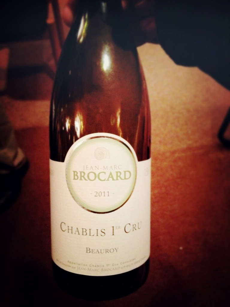 Chablis Premier Cru Beauroy, 2011