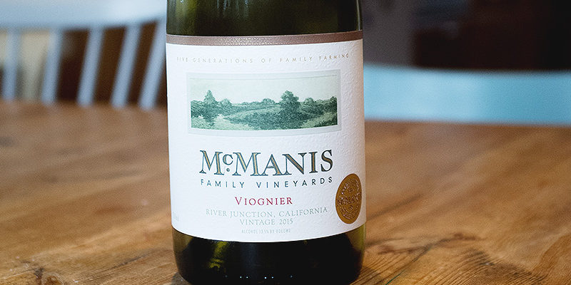 McManis Family Vineyards Viogner, 2015