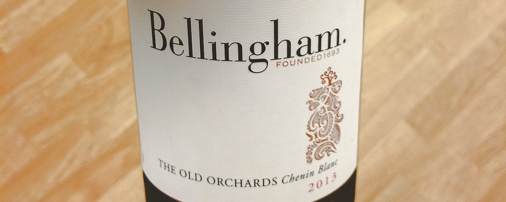 Bellinghem old orchards chenin blanc, 2013