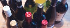 Flaskor från ovan