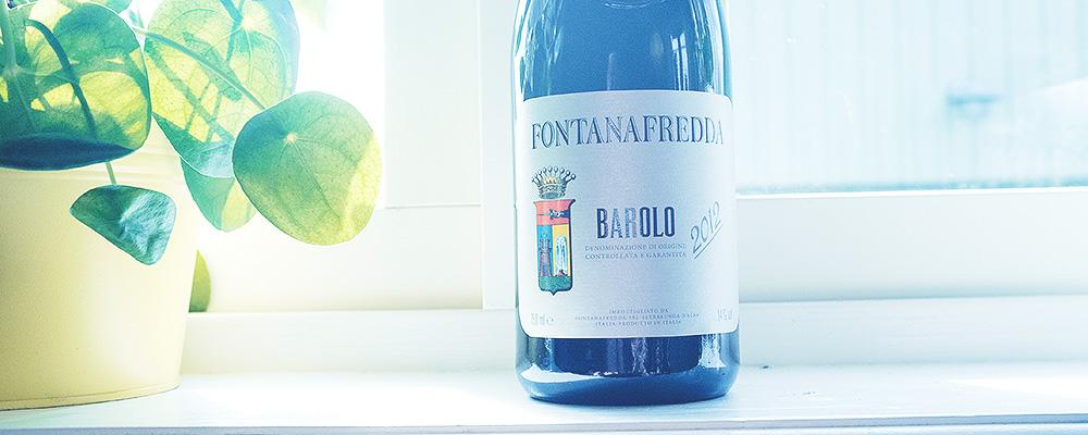 Barolo Fontanafredda, 2012