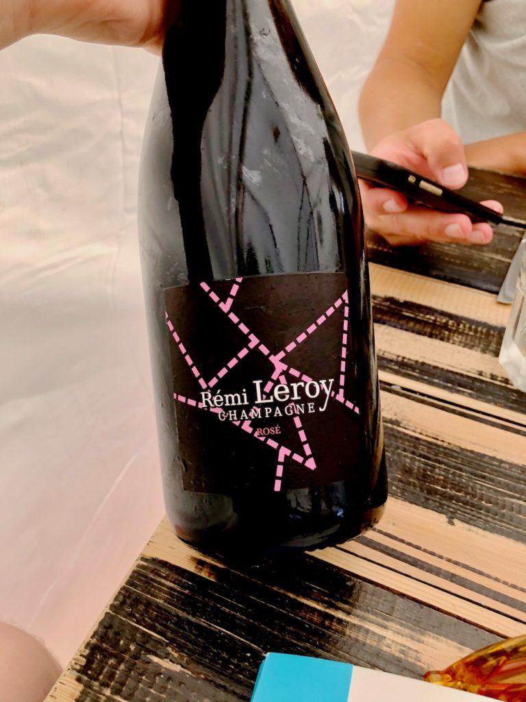 Rémi Leroy Champagne Rosé